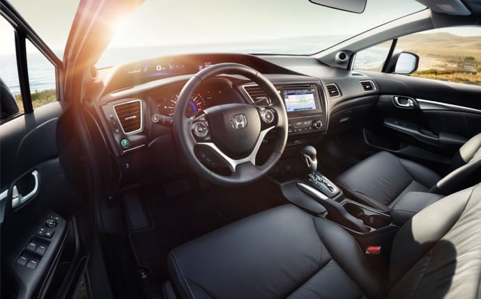 Amazing ... 2015 Honda Civic Sedan Interior