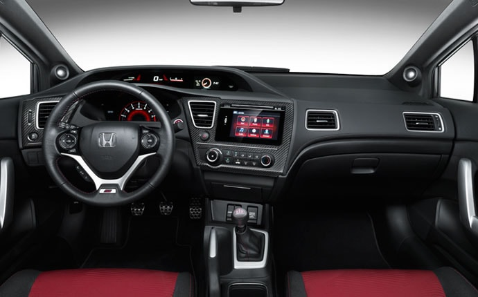High Quality ... 2015 Honda Civic Si Coupe Interior Dash Nice Design
