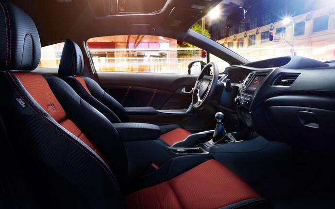 Honda Civic Si 2015 Coupe Interior