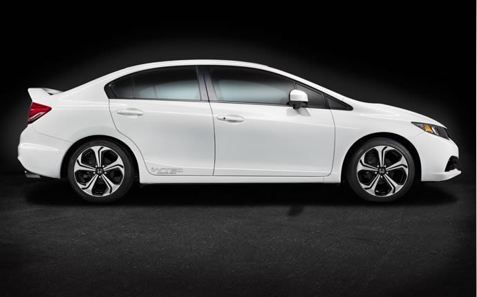 2014 Honda Accord Plug In Hybrid White Side View 2014 ...