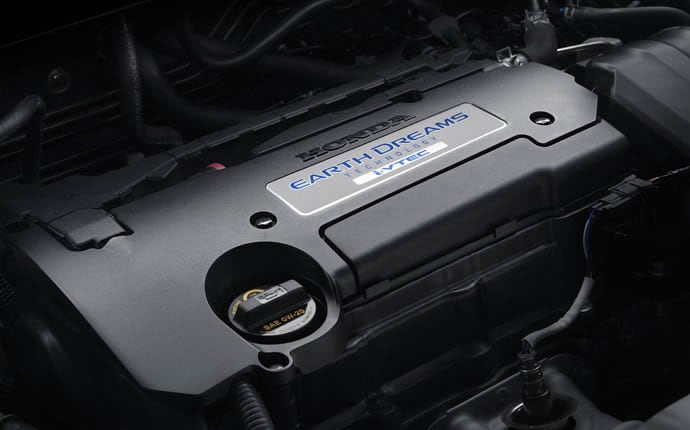 New CR-V Earth Dreams Engine