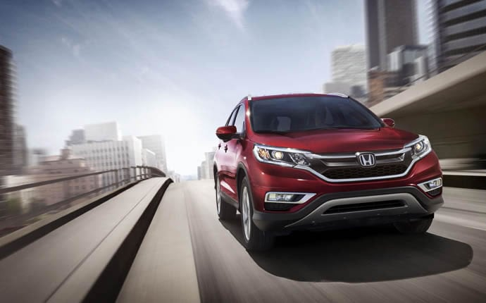 Exterior Photo of 2015 Honda CR-V
