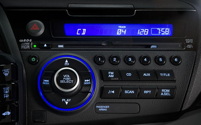 2017 Honda Cr Z Hybrid Interior Audio System Detail Jpg