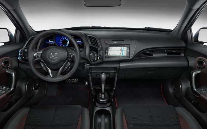 2015 Honda Cr Z Interior Photo Gallery Official Site