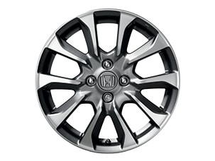 "16"" MACHINE FINISH ALLOY WHEELS (part number:)"