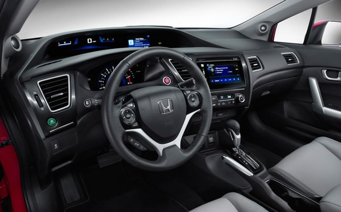 Elegant ... 2015 Honda Civic Coupe Interior