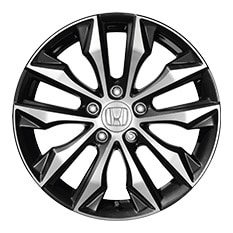 2016 honda civic sedan accessories official site  17 in alloy wheels