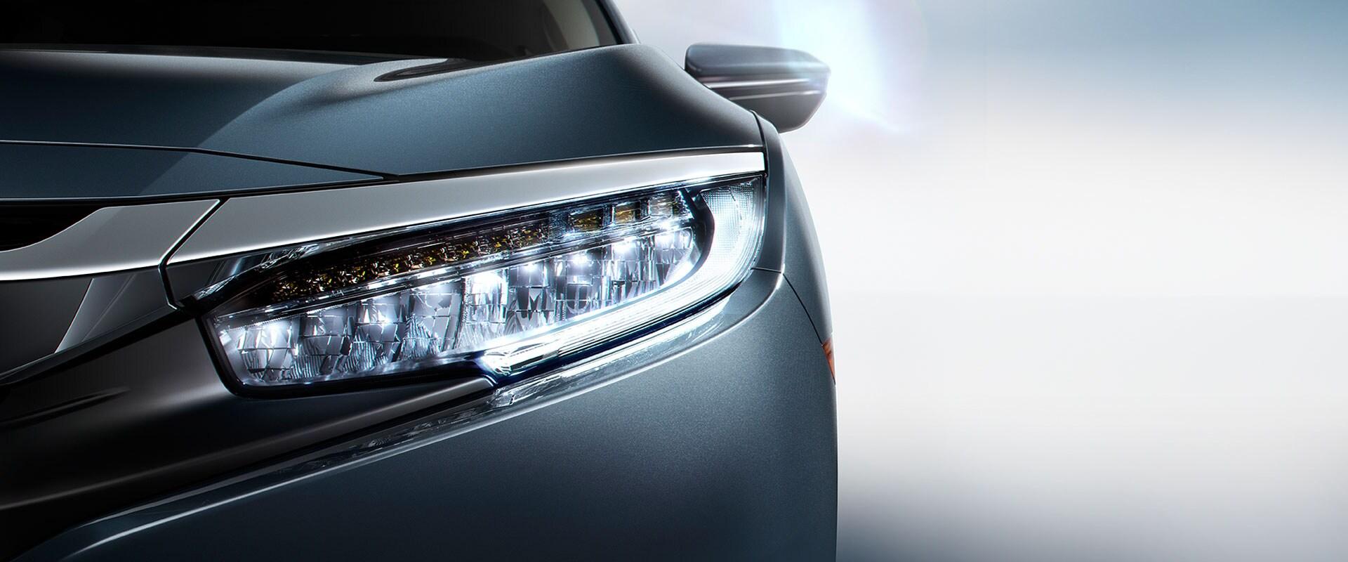 Honda Civic Sport Touring Headlights