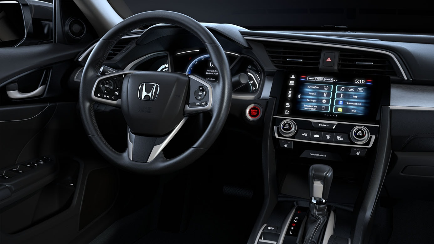 new honda civic interior. Black Bedroom Furniture Sets. Home Design Ideas