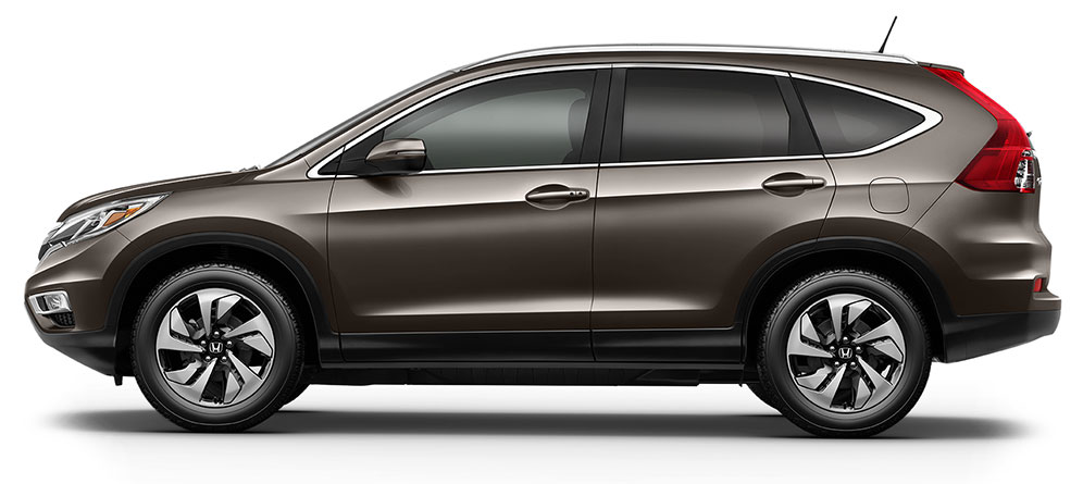The CR-V offers several stylish color combinations.