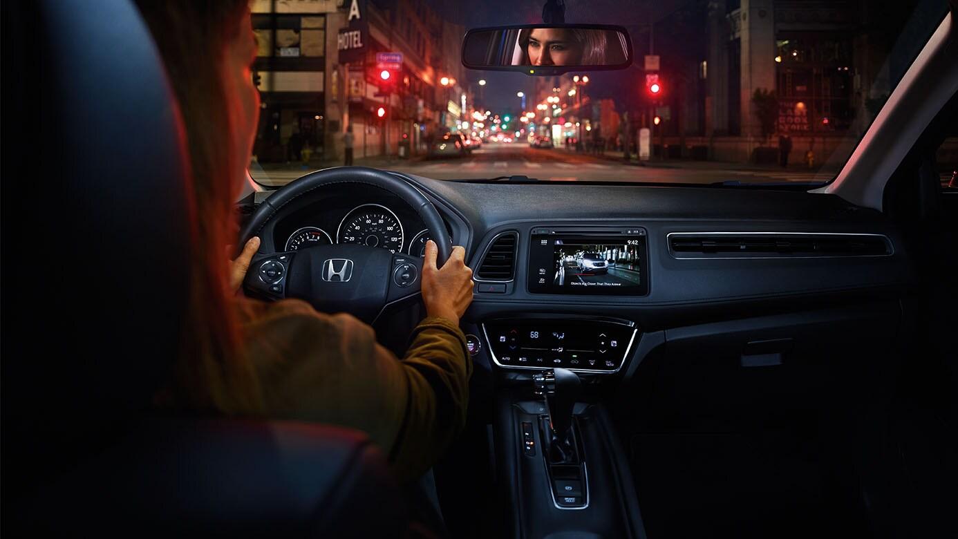Marvelous ... 2016 Honda Hrv Blind Spot Camera