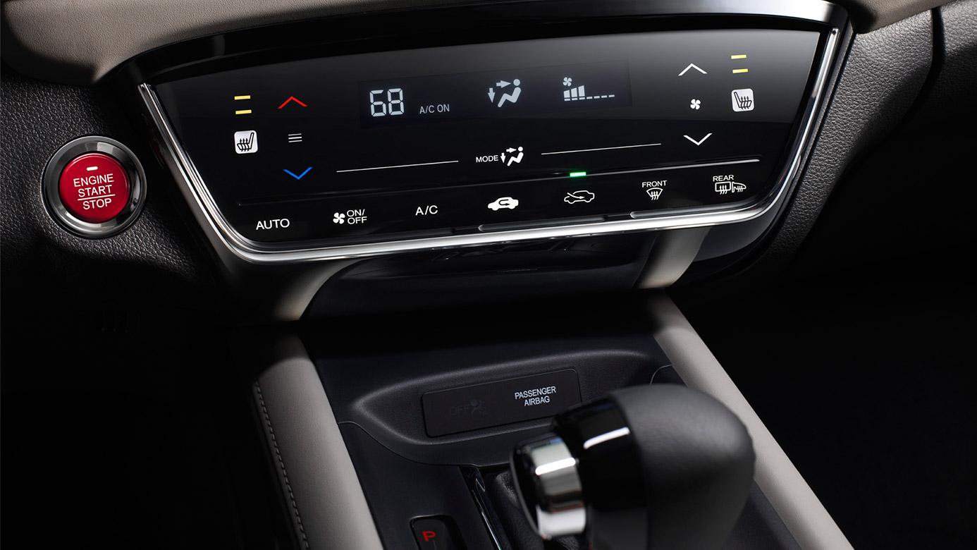 2016 Honda Hrv Climate Control Interior Jpg
