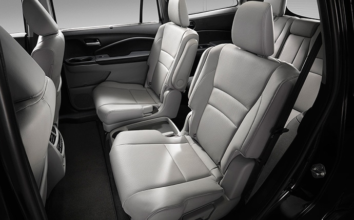 2017 Honda Pilot Suv Interior Captains Chair Jpg