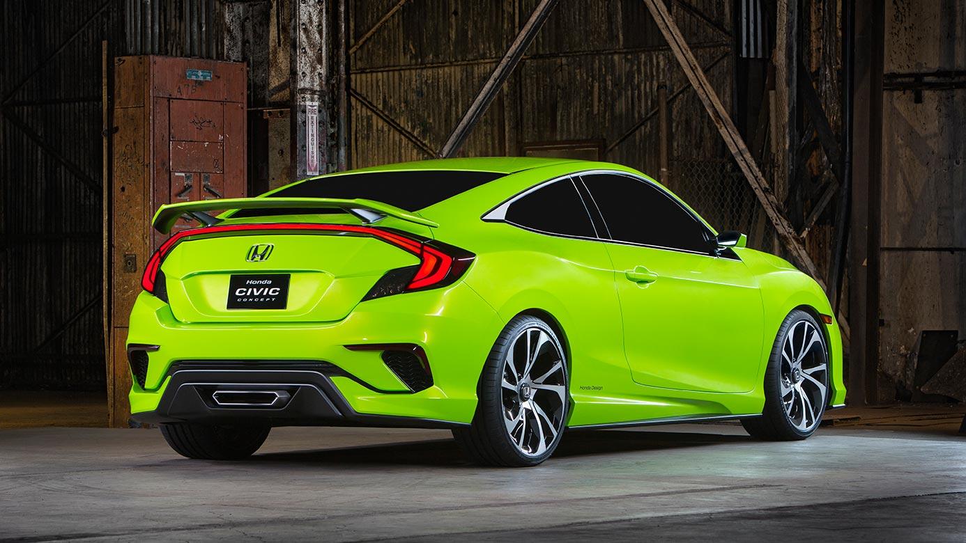 ... 2016 Honda Civic Back1