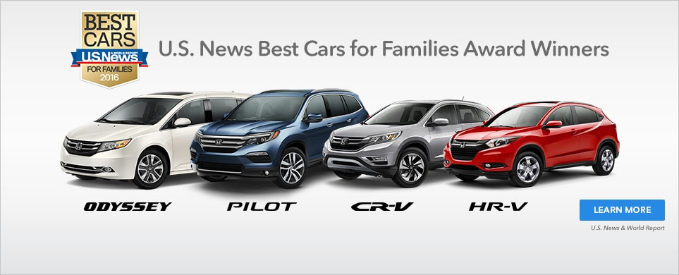 Looking For A New Car That Works Well The Entire Family Folks At US News Have Recently Named 4 2016 Honda Models Best