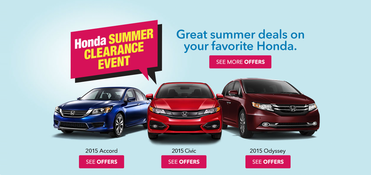 Honda cars new and certified pre owned vehicles from for Certified pre owned honda odyssey