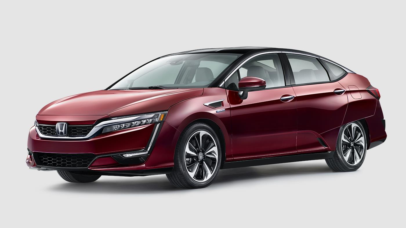 2018 Honda Clarity Fuel Cell Hydrogen Powered Car Honda