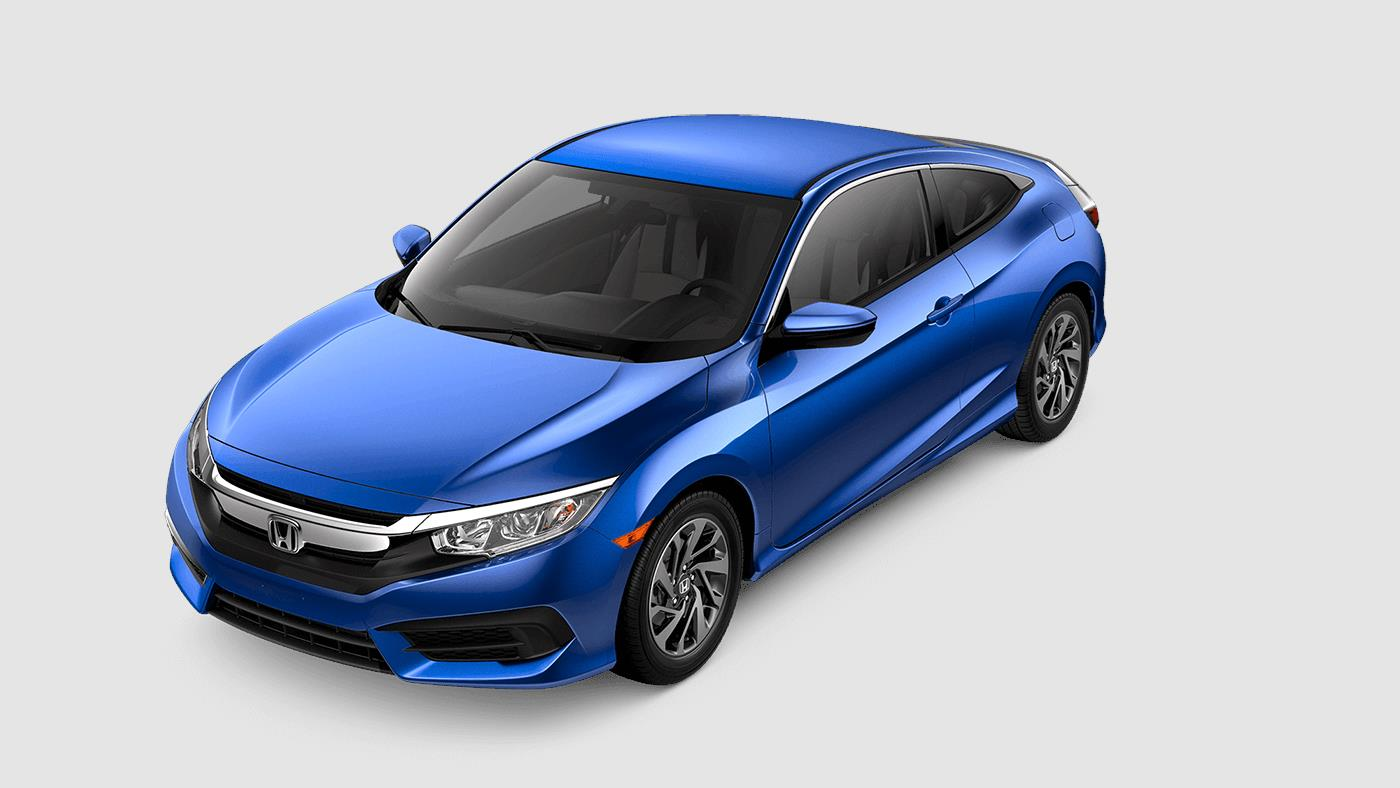 2018 Civic Coupe  The Sophisticated 2Door Car  Honda