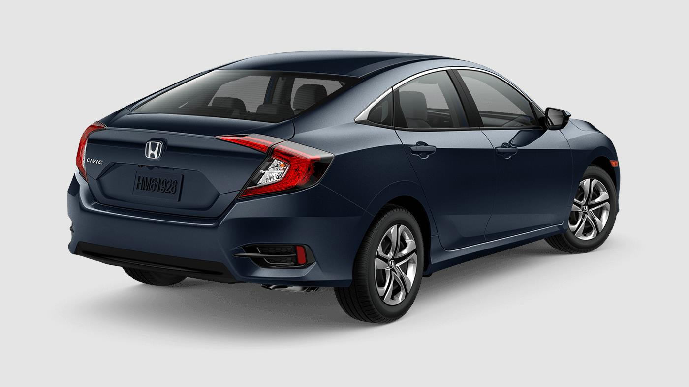 2018 Civic Sedan Sleek Sophisticated
